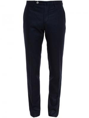 Flannel Wool Trousers Browns. Цвет: синий
