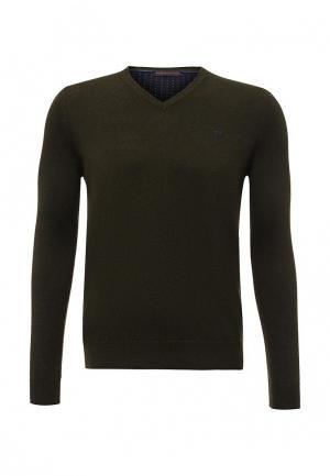 Пуловер Trussardi Jeans. Цвет: хаки