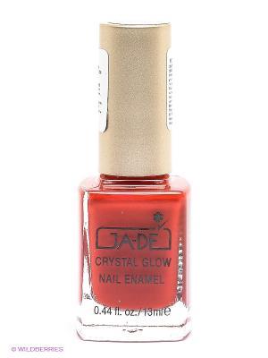 Лак для ногтей Crystal glow nail enamel, тон 342 GA-DE. Цвет: красный