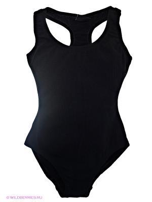 Гимнастический купальник Arina Ballerina. Цвет: черный