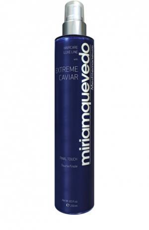 Фиксирующий спрей для волос с экстрактом черной икры Miriamquevedo. Цвет: бесцветный