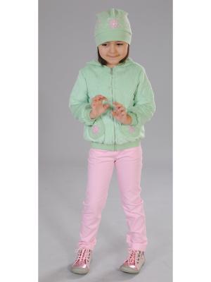 Комплект одежды Милашка Сьюзи. Цвет: зеленый