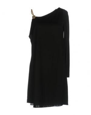 Короткое платье GUCCI. Цвет: черный