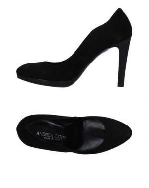 Туфли ANDREA CATINI. Цвет: черный