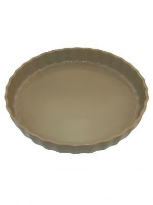 Блюдо для пирога 30х30х4,4 см Appolia. Цвет: бежевый