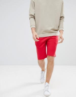 Jack & Jones Трикотажные шорты Originals. Цвет: красный