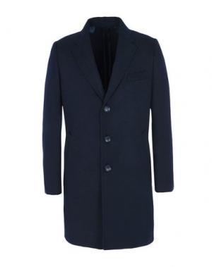 Пальто 8. Цвет: темно-синий