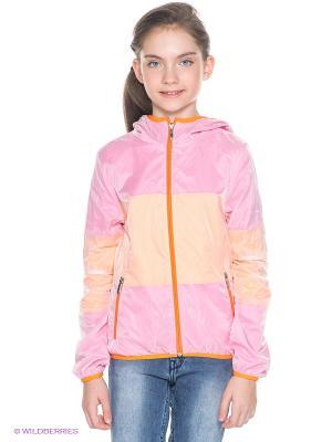 Куртка Orby. Цвет: розовый
