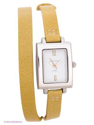Часы TOKYObay. Цвет: желтый, серебристый
