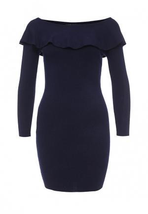 Платье QED London. Цвет: синий