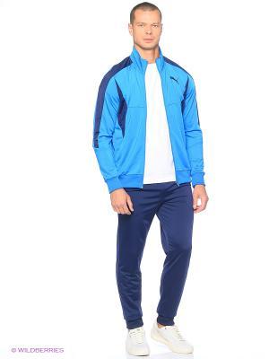 Костюм спортивный  ACTIVE BETTER Tricot Suit Puma. Цвет: голубой, синий