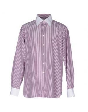 Pубашка STEFANO RICCI. Цвет: розовато-лиловый