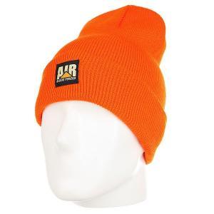 Шапка носок  Lunchbreak Beanie Orange Airblaster. Цвет: оранжевый
