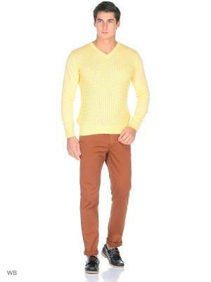 Пуловер Bilwelli. Цвет: желтый