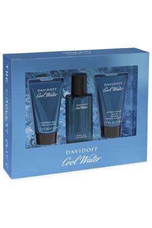 Подарочный набор для мужчин Davidoff. Цвет: прозрачный
