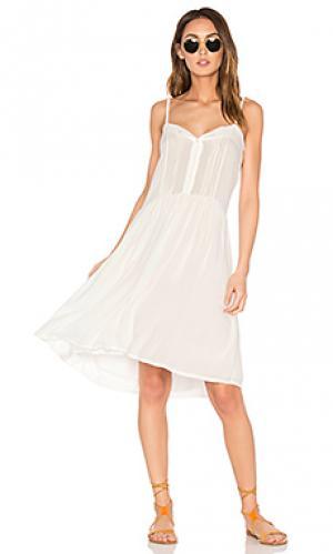 Короткое платье renny Cleobella. Цвет: белый