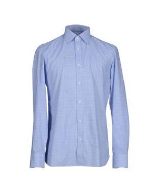Pубашка GIAMPAOLO. Цвет: небесно-голубой
