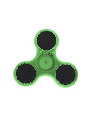 Спиннер Happy Charms Family. Цвет: зеленый, прозрачный, черный