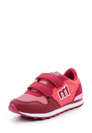 Кроссовки MTNG. Цвет: розовый