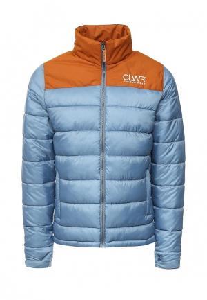 Куртка утепленная CLWR. Цвет: синий