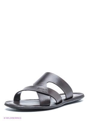 Пантолеты Mario Ponti. Цвет: темно-коричневый