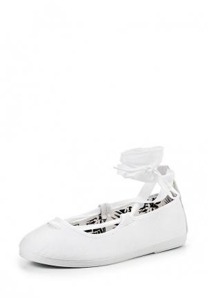 Туфли Flossy Style. Цвет: белый