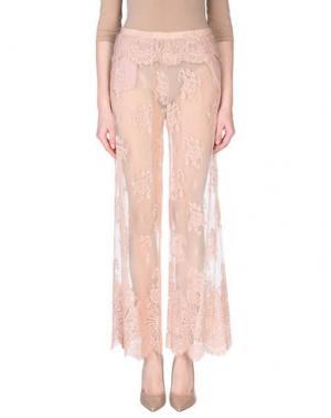 Повседневные брюки DV Roma. Цвет: пастельно-розовый
