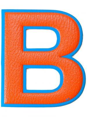 Стикер B Anya Hindmarch. Цвет: жёлтый и оранжевый