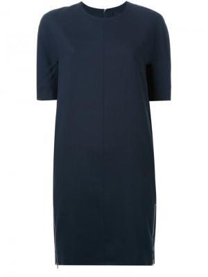 Платье Fukagawa Avelon. Цвет: синий