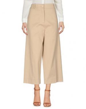 Повседневные брюки GARAGE NOUVEAU. Цвет: бежевый