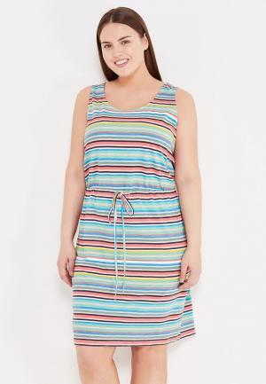 Платье Junarose. Цвет: разноцветный