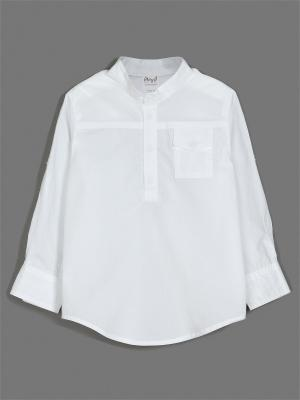 Рубашка ЕМАЕ. Цвет: белый