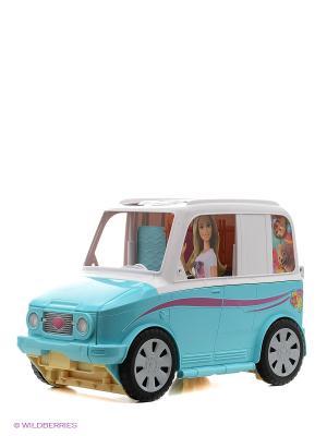 Игровой набор Фургон Barbie. Цвет: голубой, белый