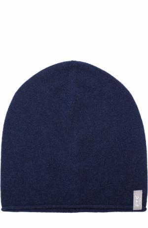 Кашемировая шапка бини FTC. Цвет: темно-синий