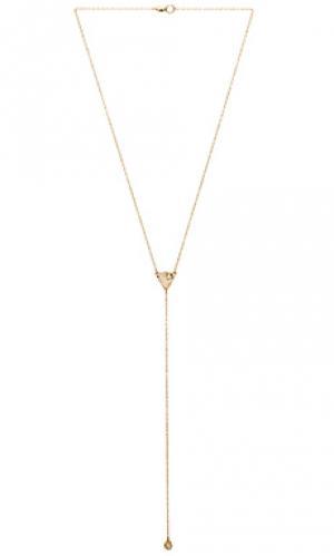 Ожерелье leona Mimi & Lu. Цвет: металлический золотой