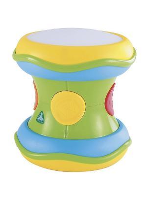 Волшебный барабан со светом и звуком ELC. Цвет: салатовый, голубой, желтый