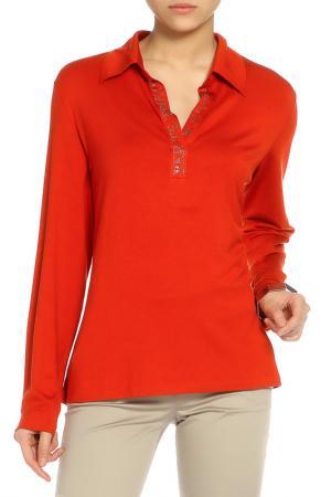 Блуза Krizia. Цвет: рыжий