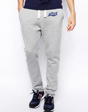 TSPTR Спортивные брюки с логотипом. Цвет: серый