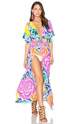 Макси платье genevieve KOPPER & ZINK. Цвет: розовый
