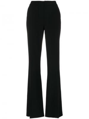 Расклешенные брюки с классической талией Just Cavalli. Цвет: чёрный