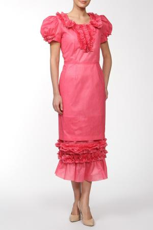 Платье Comme des Garcons. Цвет: розовый