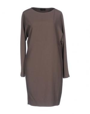 Короткое платье MALAICA. Цвет: хаки