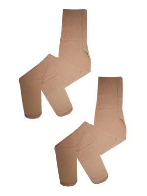 Колготки 2 пары Master Socks. Цвет: бежевый