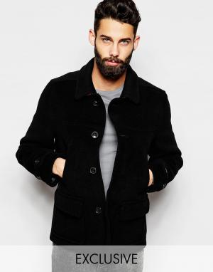 Gloverall Куртка ЭКСКЛЮЗИВНО Donkey. Цвет: черный