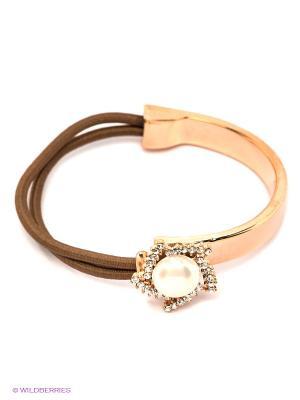 Браслет Lovely Jewelry. Цвет: золотистый, коричневый
