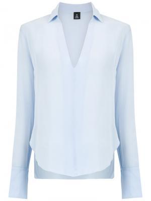 V-neck shirt Osklen. Цвет: синий