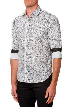 Рубашка Gabano. Цвет: белый