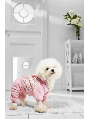 Комбинезон для собак Nothing but Love. Цвет: розовый, бежевый, желтый