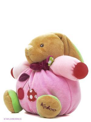 Заяц маленький - Вишня, коллекция Цвета Kaloo. Цвет: розовый