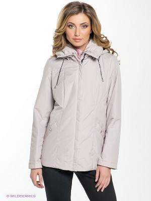 Куртка MISHEL Maritta. Цвет: светло-бежевый